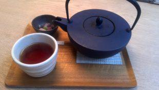 のんびりお茶でもどうぞ。