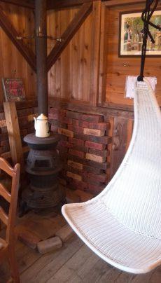 本物の暖炉